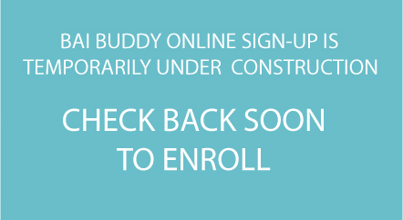 Placeholder for inconstruction BAI Buddy donantion form