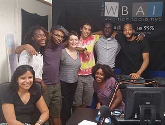 WBAI Radio Volunteers-Interns