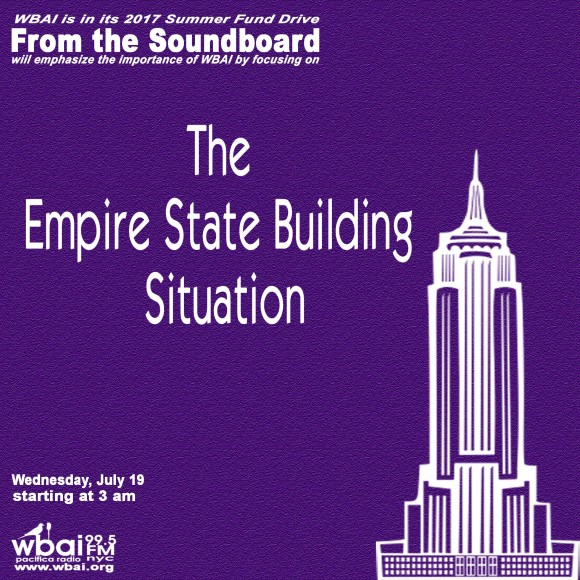 WBAI-NYC Upcoming Program