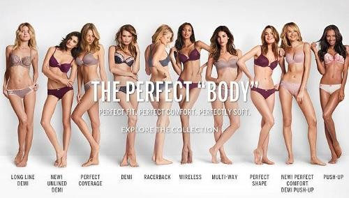 625691d02e Petition Calls for Victoria s Secret to Pull  Perfect Body  Ads